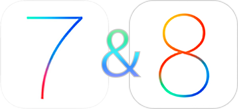 iOS7 & iOS8 Supported